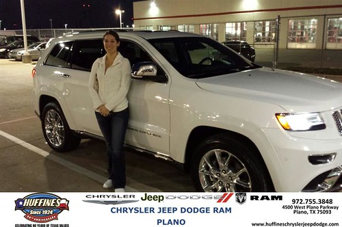 Congratulations To Megan Profanchik On Your #Jeep #Grand Cherokee Purchase  From Ruben Perez At Huffines Chrysler Jeep Dodge RAM Plano! #NewCar