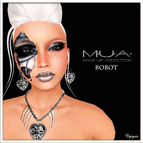 MUA - Robot by Caprycia ♕VeraWangMF2014♕