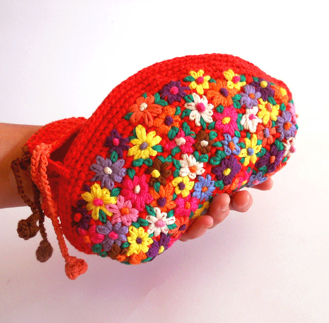 Bolso  bordado Loving mexico