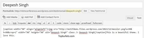 Motif Theme - Topbullets.com