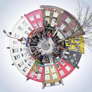 MiniPlanet London Camden Market Panorama