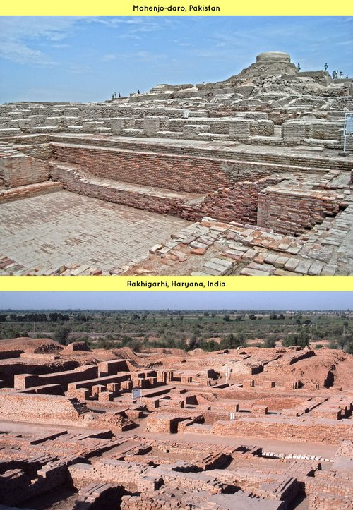 Rakhigarhi vs Mohenjo Dero Harappan sites