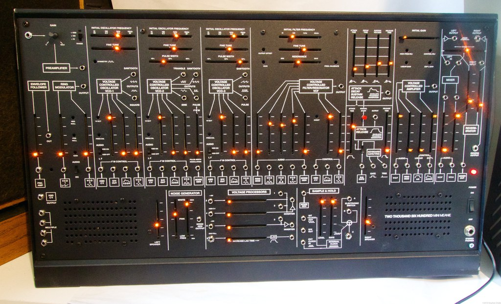 TTSH ARP 2600 clone front