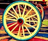 Carriage Wheel by ChandrahaasCreation