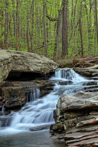 longexposure water creek waterfall al birmingham rocks stream alabama hike preserve mossrock mossrockpreserve