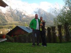 Champagne in the Ski Weekend Garden
