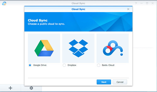Synology cloud sync dropbox