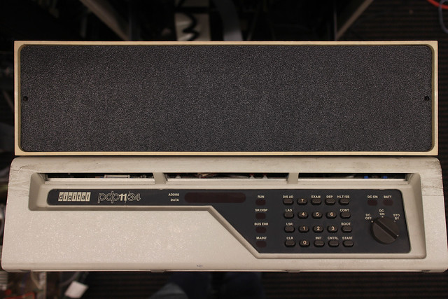 PDP-11/34 Front panel