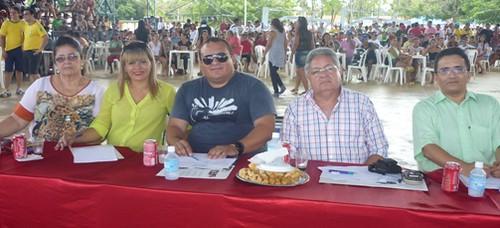 Terezinha Xabregas, Dailce Gonçalves, Peter Hugo Rasera, o colunista e Roney Oliveira