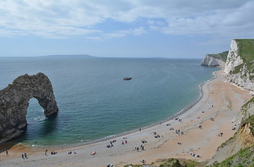 Durdle Door from Coast Path
