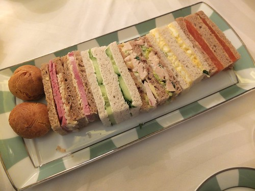 Afternoon Tea Sandwiches Claridge's
