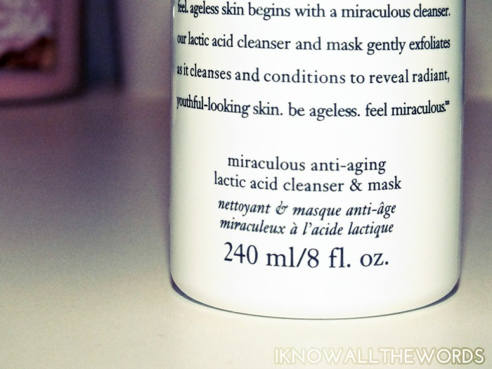 Philosophy Miracle Worker Lactic Acid Cleanser & Mask (2)