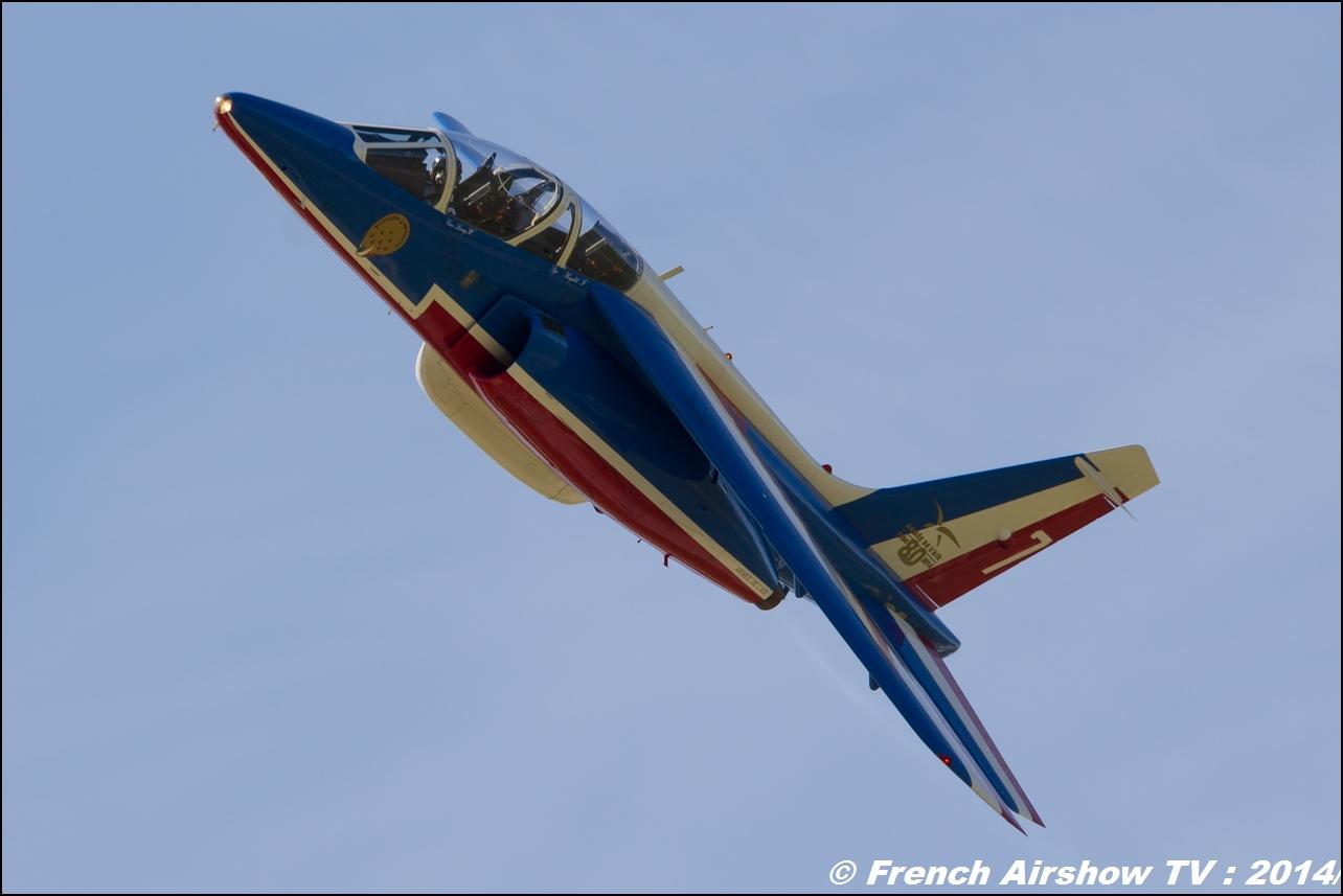 Patrouille de France Meeting Aerien 2014
