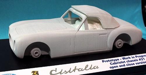 Miniminiera Cisitalia chassis n.21 cabrio (1)