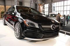 sports car(0.0), automobile(1.0), automotive exterior(1.0), wheel(1.0), vehicle(1.0), automotive design(1.0), mercedes-benz(1.0), rim(1.0), auto show(1.0), mercedes-benz a-class(1.0), compact car(1.0), bumper(1.0), sedan(1.0), land vehicle(1.0), luxury vehicle(1.0),