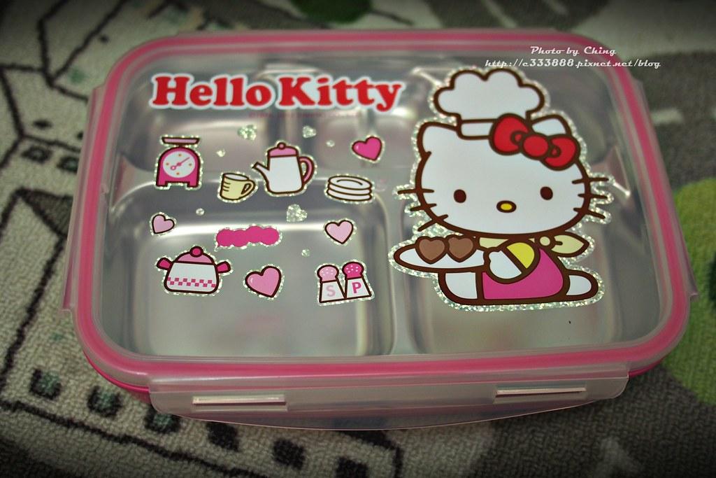 P2070226樂扣樂扣HELLO KITTY不鏽鋼雙層餐具