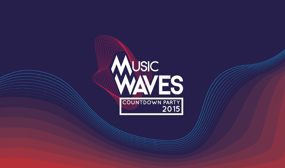Music Wave Countdown Party logo