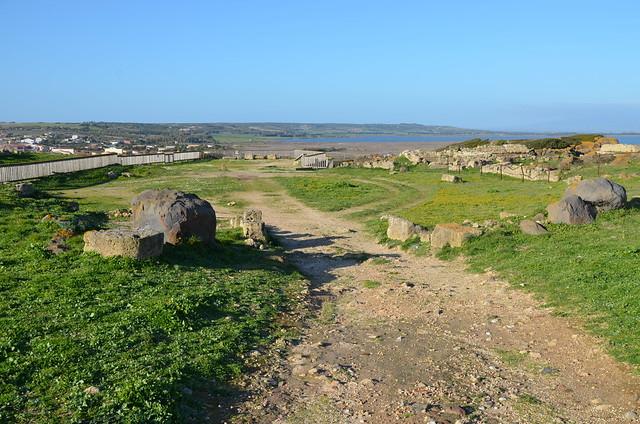 Roman amphitheatre, Tharros, Sardinia