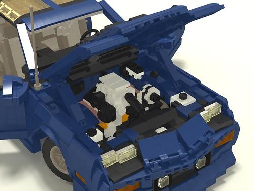 1987 Camaro IROC-Z engine compartment