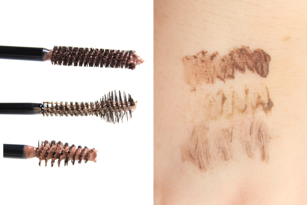 Drugstore Brow Gels Comparison & Swatches