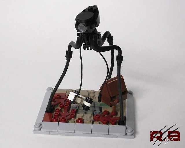 Micro War of the Worlds Alien Tripod