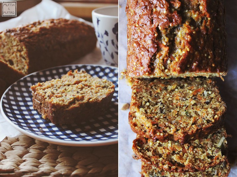 Carrot and Millet Bread