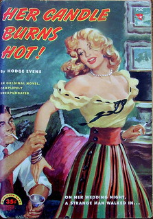 Her Candle Burns Hot ! - Rainbow Book - No 109 - Hodge Evens - 1951