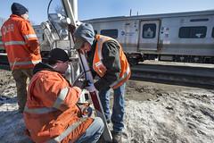 Fixing LIRR Broken Rails