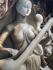Durga Idol at Kumartuli