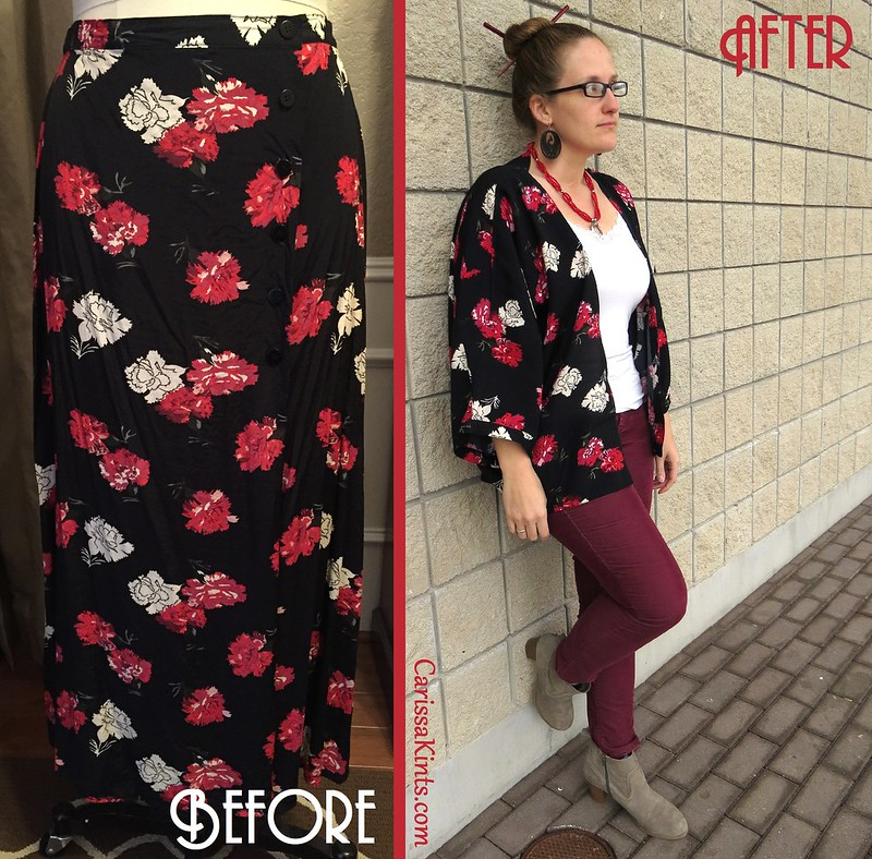 Kimono Jacket - Before & After