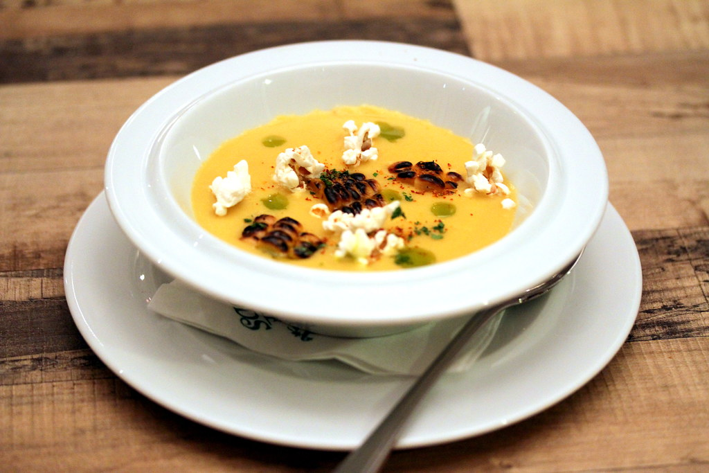 Shelter in the Woods' Creamy Corn Soup Trio