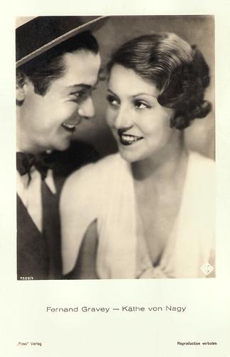 Fernand Gravey and Käthe von Nagy in À Moi le Jour, à Toi la Nuit (1932)