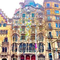 The amazing Casa Batlló :heart_eyes: