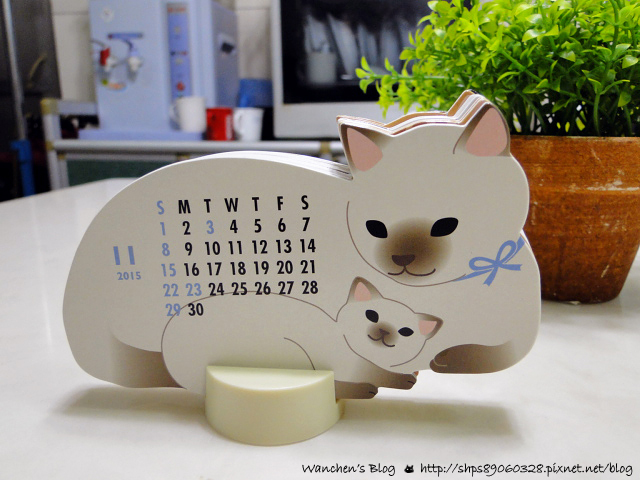 貓咪造型桌曆CATS Calendar