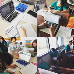 The sound of kids writing. #favoritesound #flashdraft #tcrwp #uwcsea_east #positionpaper #choice