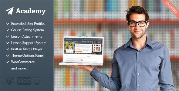 Academy v2.15 – Learning Management Theme