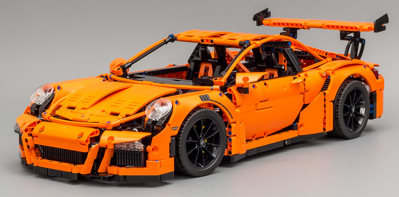 lego technic porsche 911 gt3 rs 42056 pronta entrega r. Black Bedroom Furniture Sets. Home Design Ideas