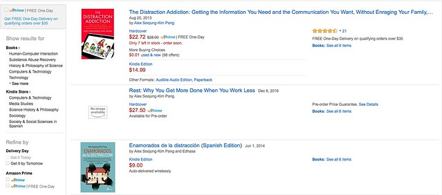 REST is listed in Amazon