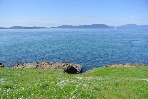 April Bicycle Camping Day 5 - View from Washington Park on Fidalgo Island