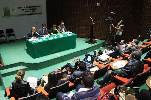 El día 24 de mayo del 2016 se llevó a cabo el Foro: Diálogo con congresistas mexicanos: Que las transnacionales paguen lo justo en la H. Cámara de Diputados.