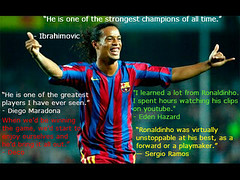 Top 30 Quotes on Ronaldinho
