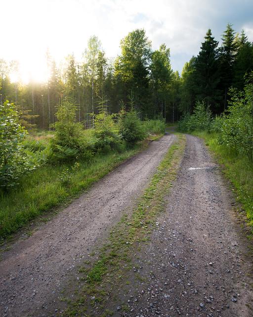 Gravel road - Vålberg