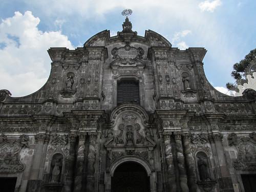 Quito: Iglesia de la Compañia