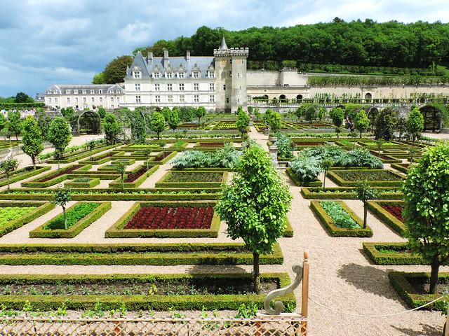 Colorful Gardens Of Château de Villandry - Our Wanders
