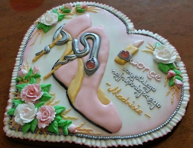 Birthday Gingerbread with Diamants by Pierniczki do Zadań Specjalnych