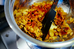 Roasted almonds, sesame, coriander seeds and pimen…
