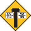 T-Junction with No Through Road to Both Sides