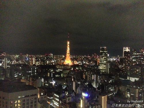 橘色燈的東京鐵塔