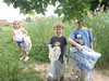 Stansbury Park and Pond Cleanup with Clean Bread and Cheese Creek on 5/18/13