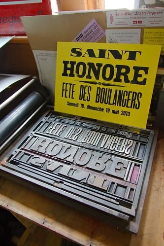 Affiche Saint-Honoré